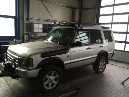 Land Rover Discovery 2 - Air Snake Schnorchel Kit - SNSLD2